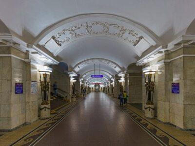 Станция метро Пушкинская в Санкт-Петербурге